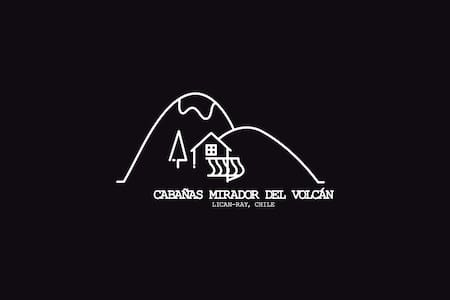 Cabañas Mirador del Volcán, Lican Ray. Cabaña 2 - Licanray