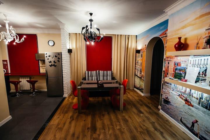Квартира-студия, центр Советской