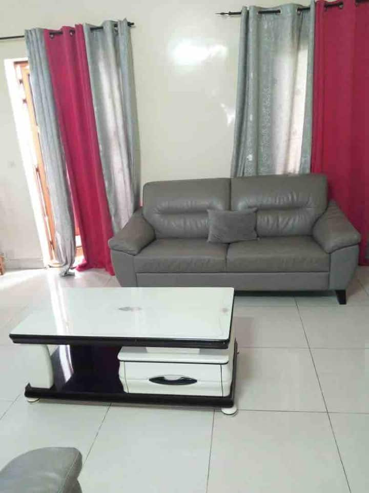 Bel Appartement, chambre, salon (Dakar - Amitié 2)