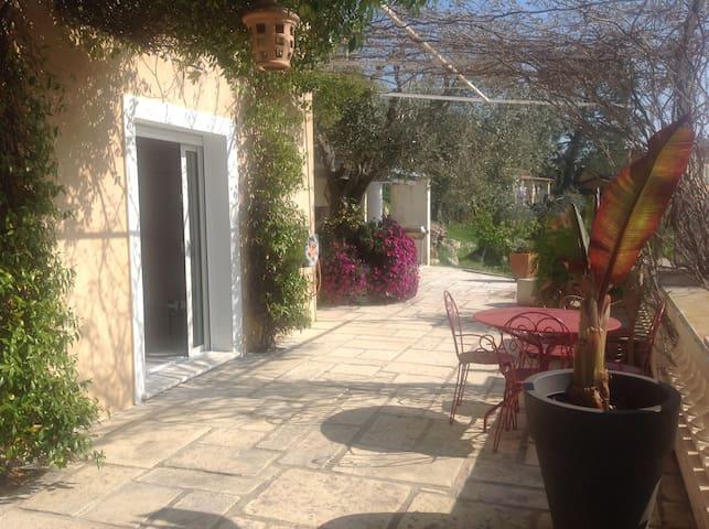 Charmant 2 pièces colline niçoise - Saint-André-de-la-Roche - House