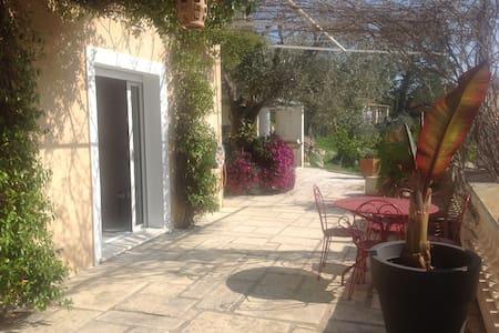 Charmant 2 pièces colline niçoise - Saint-André-de-la-Roche - Haus