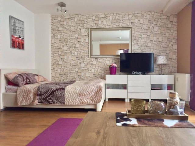 Modern studio, terrace, 20 min to city centre - Praha