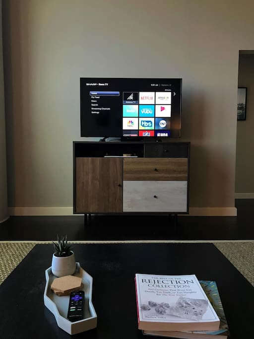 Roku-HD TV