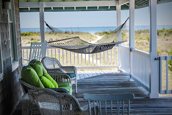 Oceanfront Haven! This classic beach cottage provides the perfect getaway.