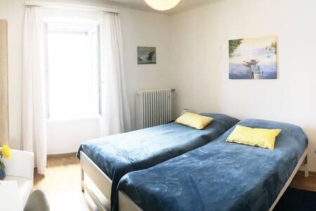 Chambre double dans maison d'hôtes - Nr 1