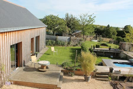 Grande maison lumineuse avec jardin - Baugé en Anjou