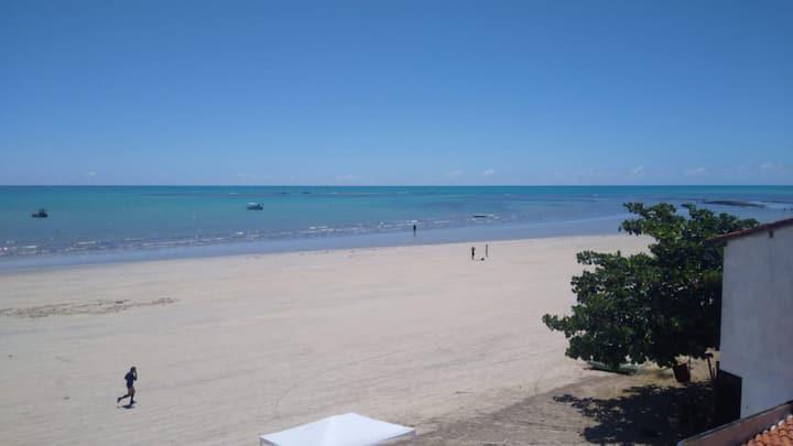 Apto amplo a Beira Mar de Maragogi
