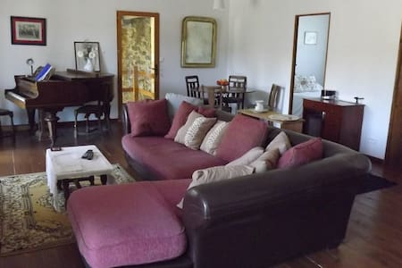 Large apartment - 90 sqm in quiet country location - Daire