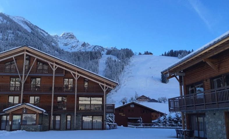 Sunny appartment directly on the slopes Chatel - La Chapelle-d'Abondance - Apartment