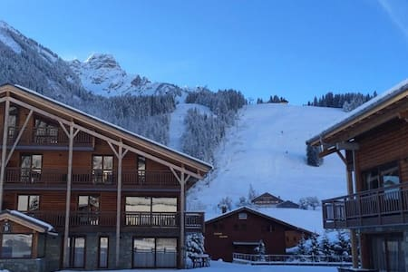 Sunny appartment directly on the slopes Chatel - La Chapelle-d'Abondance