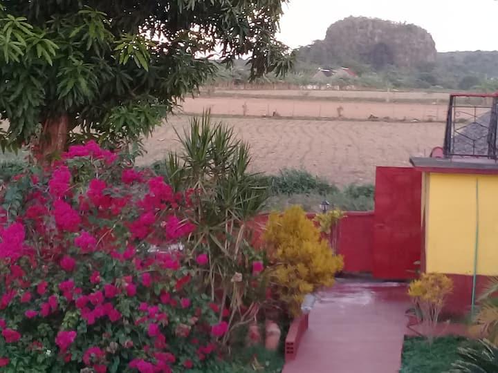 Villa el Ranchon Ignacio y Raiza,habitacion 2.WiFi