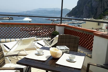 """DONNA ROSA """"Charming House"""" by the Sea. - Capri"""