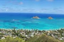 View from Pillbox Hike, also a short walk away