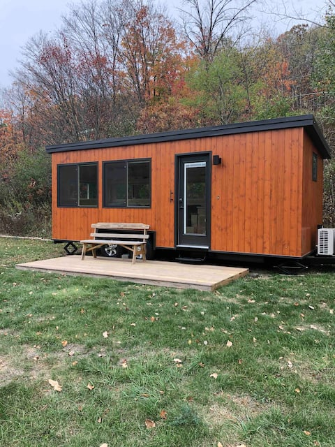 The Boho Tiny House at JuneBug Lodge