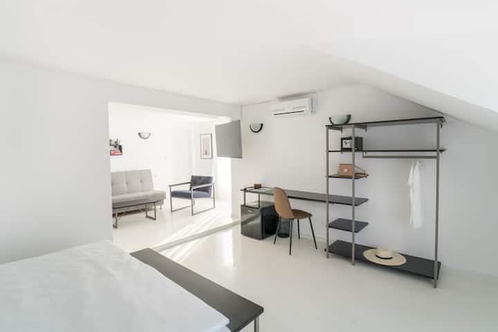 White Apartment
