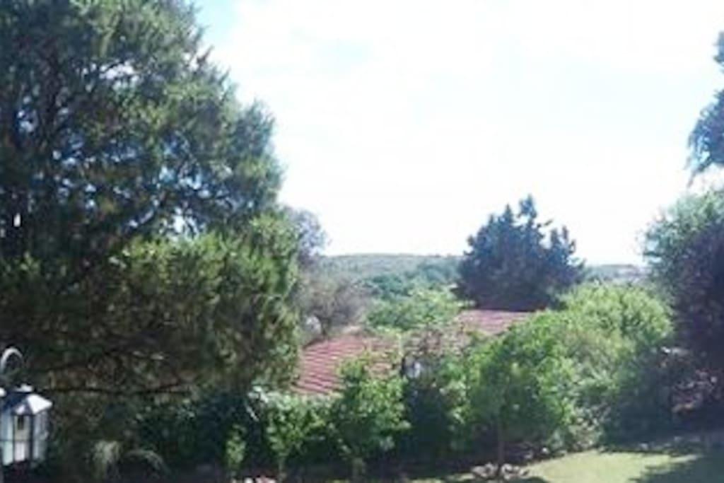 Vista Completa desde la Cabaña