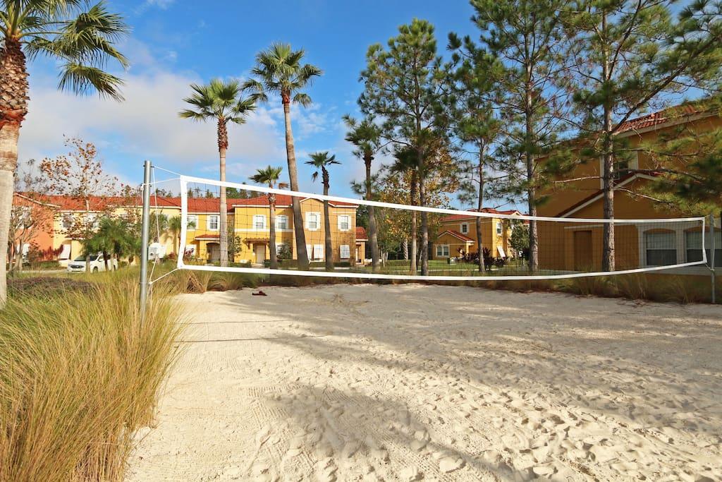 Resort  Sand Vollyball