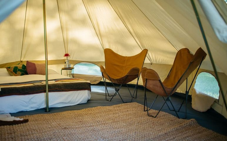 Base Camp: Luxury Furnished Tent by Shelter-Co - Thermal - Teltta