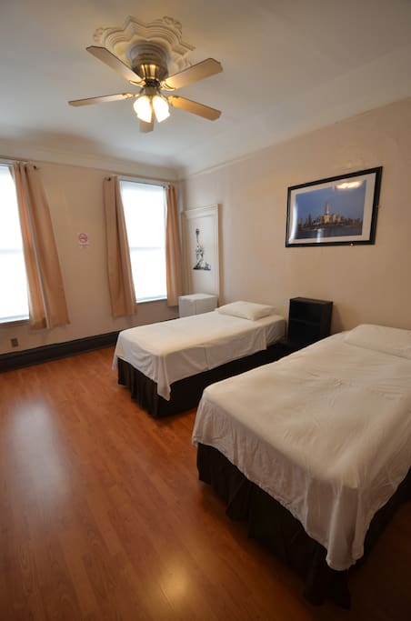 First Bedroom: Spacious