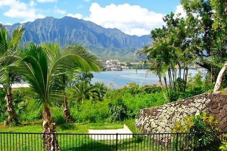 Ocean Views Mansion Room -2 ! - Kaneohe - บ้าน
