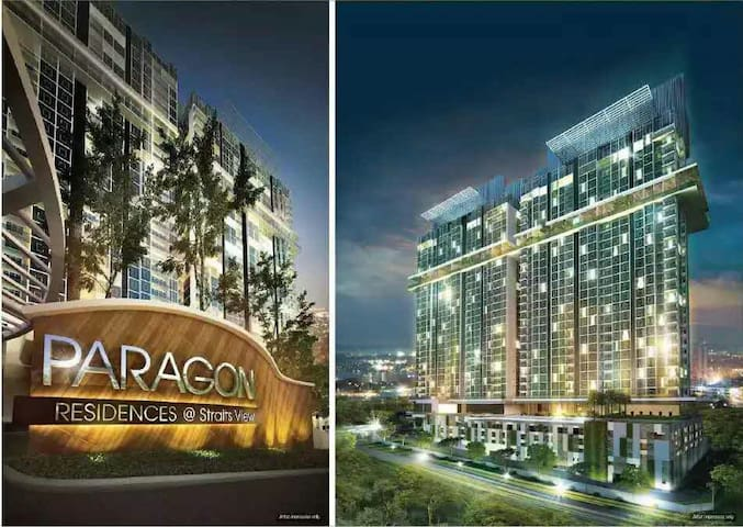 "Paragon Luxurious Apartment with ""FREE WIFI"" - Johor Bahru - Flat"