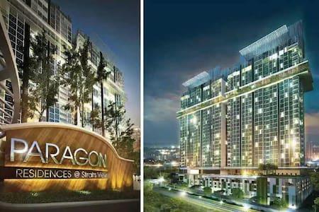"Paragon Luxurious Apartment with ""FREE WIFI"" - จอฮอร์บาห์รู"
