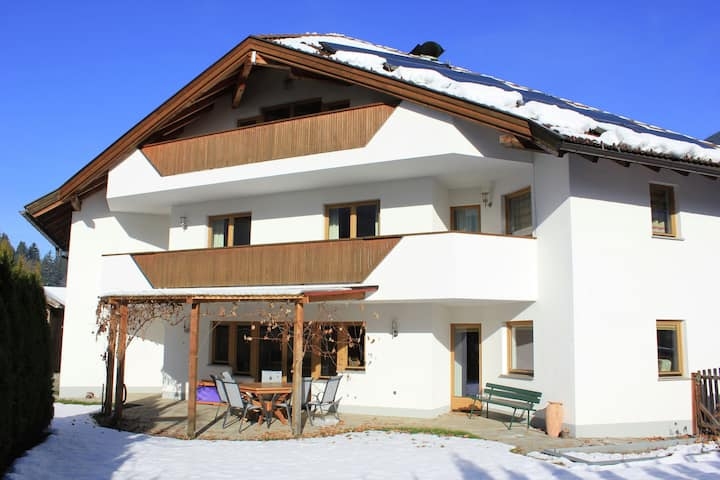 Modern Apartment in Kaltenbach with view of Zillertal Alps