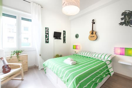 "NEW! Green Room in the ""House Of Music"" - Roma - Apartment"