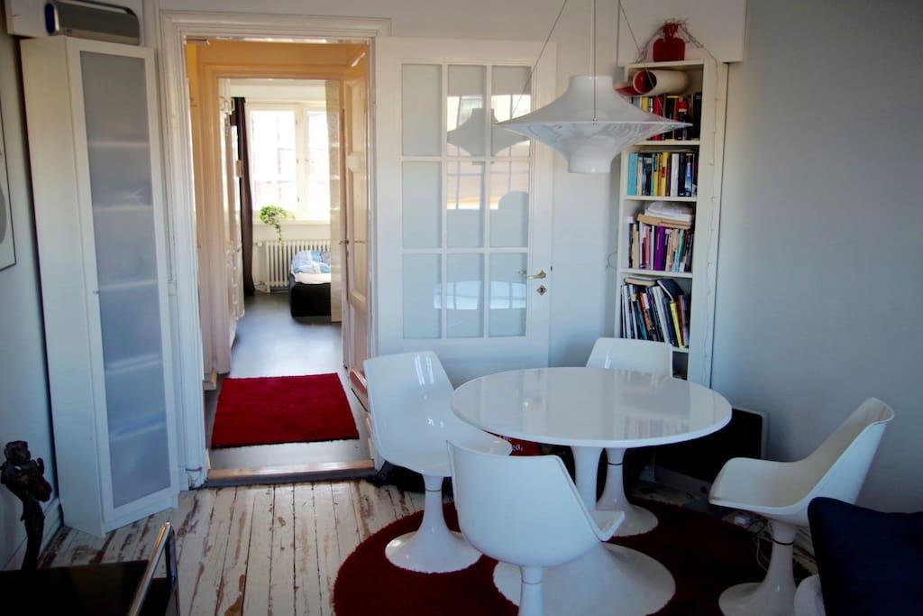 Cozy apartment with Finnish design classics.