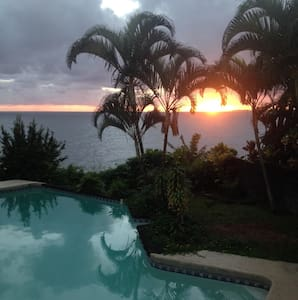 Cliffside pool for Whale season - Hilo - Bed & Breakfast