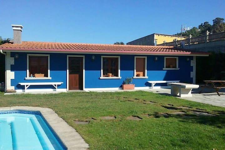 Estudio apartamento con piscina en Meis. - O Salnés - Apartament
