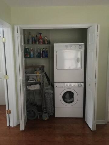 Free Washer and dryer available during your stay