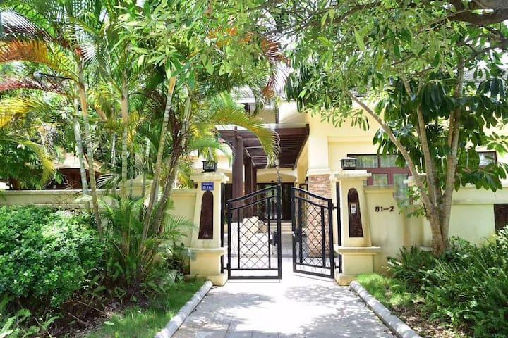 东山岛海边5房大别墅,带泳池,烧烤,唱K,团建,家庭出游