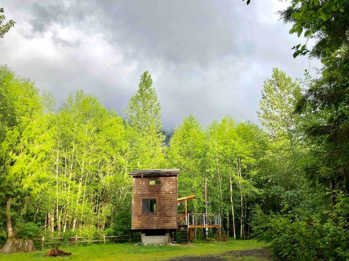 Modern Loft Cabin - Tiny House