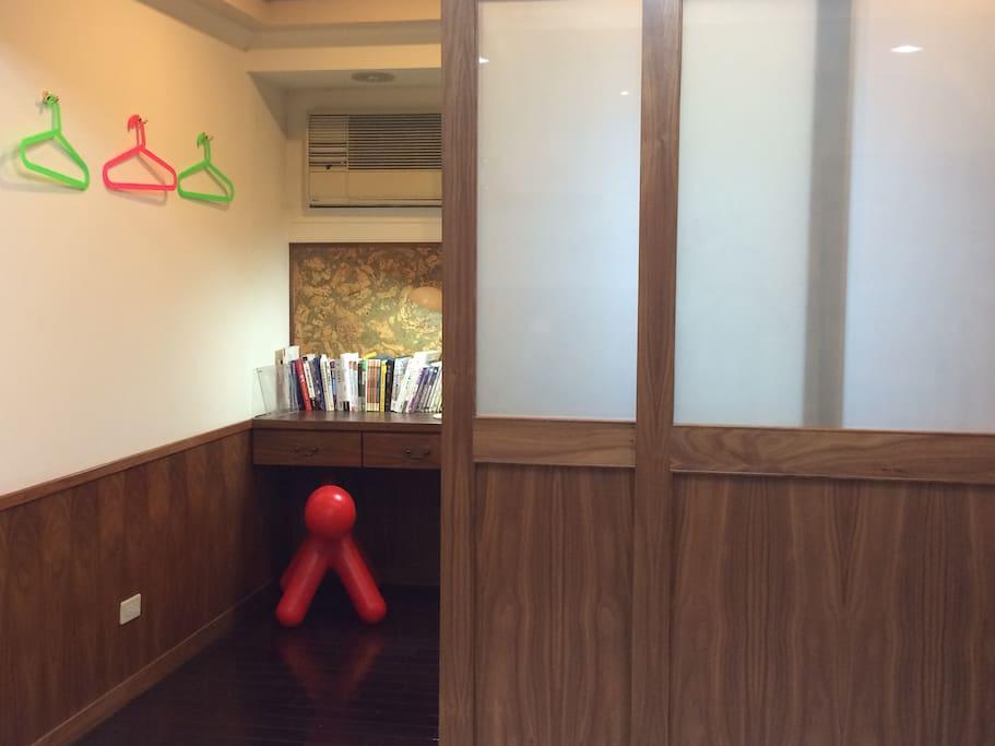 寬敞獨立原木日式拉門(三)