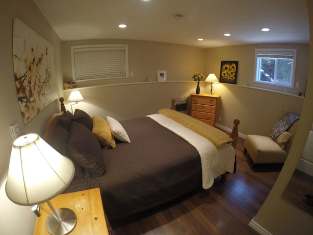 Renovated Suite/Heated Bathroom Flr