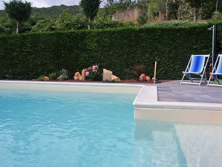 45 Sqm apartment nice, typical, quiet, pool, wifi