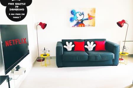 Mickey's apartment 5 min away from Disneyland