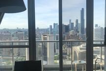 Breathtaking views.