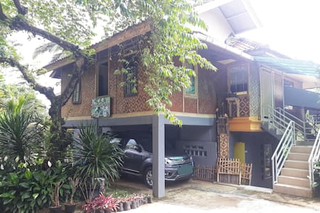Rumah peristirahatan dengan nuansa pedesaan