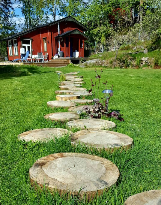 The real norwegian cabin experience chalet in affitto a for Cabina innevata nei boschi
