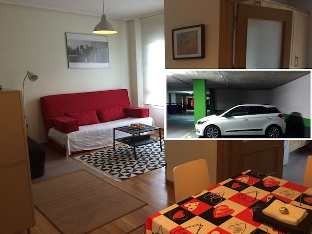 15MIN.WALK OLD TOWN+FREE PARKING+QUIET (E-BI0002) - Bilbo - Apartment