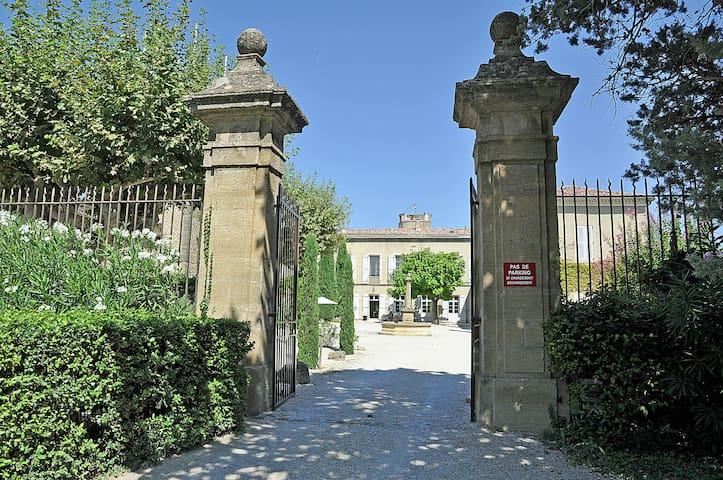 Castle Apartment Provence - Jonquières - Wohnung