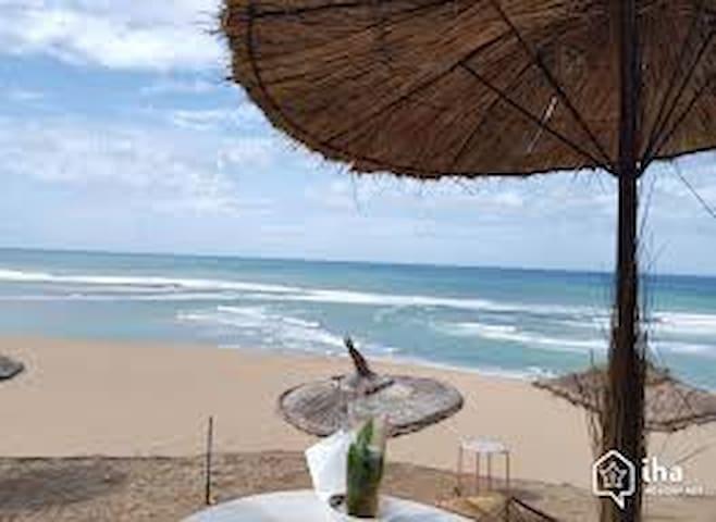 villa de plage