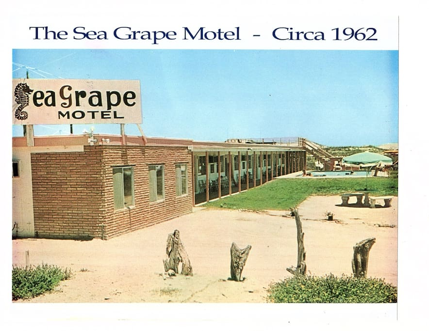 Originally the SeaGrape Motel opened in 1961