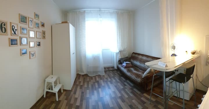 Уютная маленькая студия 28 m²!