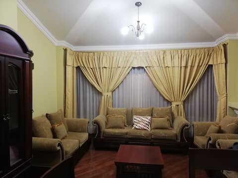 Full, comfortable and furnished apartment.