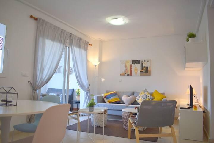 Cozy apartment H.Riquelme Golf