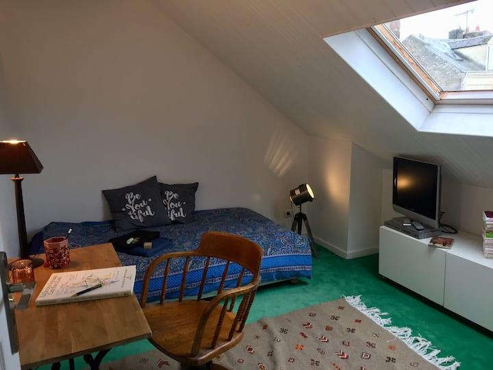 Chambre sous les toits (pour auteurs)