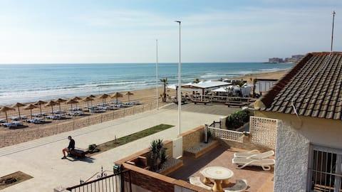 Zakwaterowanie na plaży, La Mata, Torrevieja